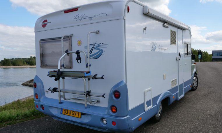 Campers Nijmegen Burstner Delfin 686